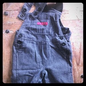 🌠2/15💰Calvin Klein-Charcoal gray, overalls